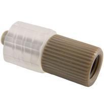 1-Way PEEK Adapter MLL 1/4-28 Internal Standard Thread (Individual)