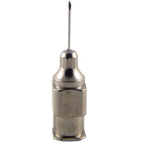 "Hypodermic Needles 26g x 3/8"" Plated Brass Hub (Box of 12)"