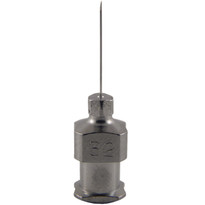 "Hypodermic Needles 32g x 1/2"" Plated Brass Hub (Box of 12)"