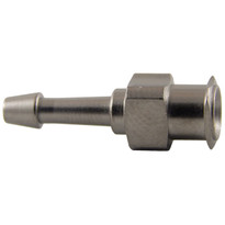 "FLL to 1/16-3/32"" Hose End (Plated Brass) (Individual)"