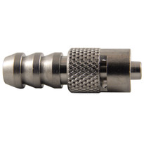 "MLL to 1/4-5/16"" Hose End (Plated Brass) (Individual)"