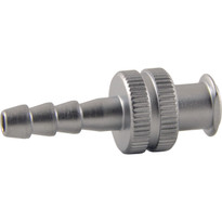 FLL to 4mm Hose End (Plated Brass) (Individual)