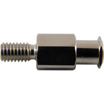 FLL to 10-32 Standard Thread Hex Body (Plated Brass) (Individual)