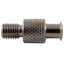 FLL to 1/4-28 Standard Thread (Plated Brass) (Individual)