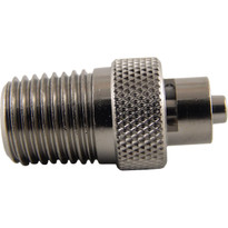 MLL to 1/4-18 NPT (Plated Brass) (Individual)