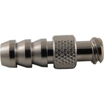 "MM FLL 1/4-5/16"" Hose End (Plated Brass) (Individual)"