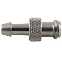 "MM FLL to 1/8-3/16"" Hose End (Stainless Steel) (Individual)"