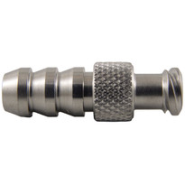 "MM FLL to 1/4-5/16"" Hose End (Stainless Steel) (Individual)"