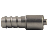 MLL to 8mm Hose End (Stainless Steel) (Individual)