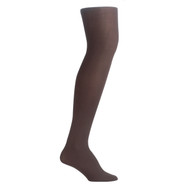Bearfoot Women's PK1 70D Nylon Opaque Tights with Cotton Gusset - Chocolate