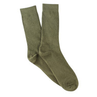 Bearfoot Men's PK1 Cotton Crew Socks - Khaki