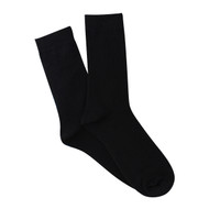 Bearfoot Men's PK1 Cotton Crew Socks - Black