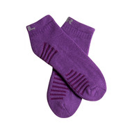 Benefeet Women's PK1 Lavender scented Aromatherapy cotton low cut socks with massaging soles and Aloe Vera - Purple