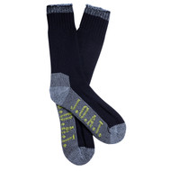 Jack Of All Trades Men's PK1 Sustainable Bamboo socks for outdoor, work and play - Navy