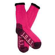 Jack Of All Trades Women's PK1 Sustainable Bamboo socks for outdoor, work and play - Pink