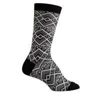 Sock Cafe Women's PK1 True Jacquard Crew