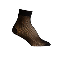 Sock Cafe Women's PK1 Fishnet 1/4 Crew