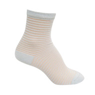 Sock Cafe Women's PK1 Sheer 1/4 Crew