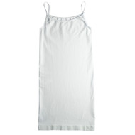 Sock Café Body PK1 Seamless Shoe String Singlet Slip Dress - White