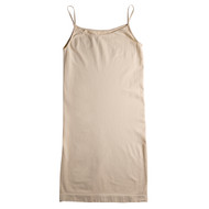 Sock Café Body PK1 Seamless Shoe String Singlet Slip Dress - Skin