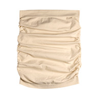 Sock Café Body PK1 Seamless Strapless Ruched Tube Top - Skin