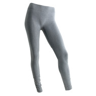 Sock Café Body PK1 Ruched Seamless Full Length Leggings - Grey Marle