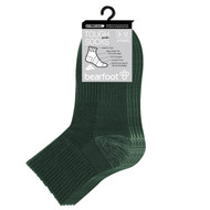 Bearfoot Children's PK3 Tough Quarter Crew cotton sport and school socks - Bottle