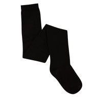 Bearfoot Girl's PK2 Cotton Rich Opaque Winter Weight Tights - Black