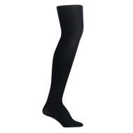 Bearfoot Women's PK2 70D Nylon Opaque Tights with Cotton Gusset - Black