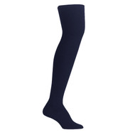 Bearfoot Girl's PK1 Cotton Rich Opaque Winter Weight Tights with Cotton Gusset - Standard Navy