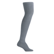 Bearfoot Girl's PK1 Cotton Rich Opaque Winter Weight Tights with Cotton Gusset - School Grey