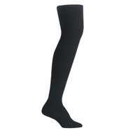 Bearfoot Women's PK1 Cotton Rich Opaque Winter Weight Tights with Cotton Gusset - Black