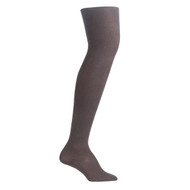 Bearfoot Women's PK1 Cotton Rich Opaque Winter Weight Tights with Cotton Gusset - Chocolate