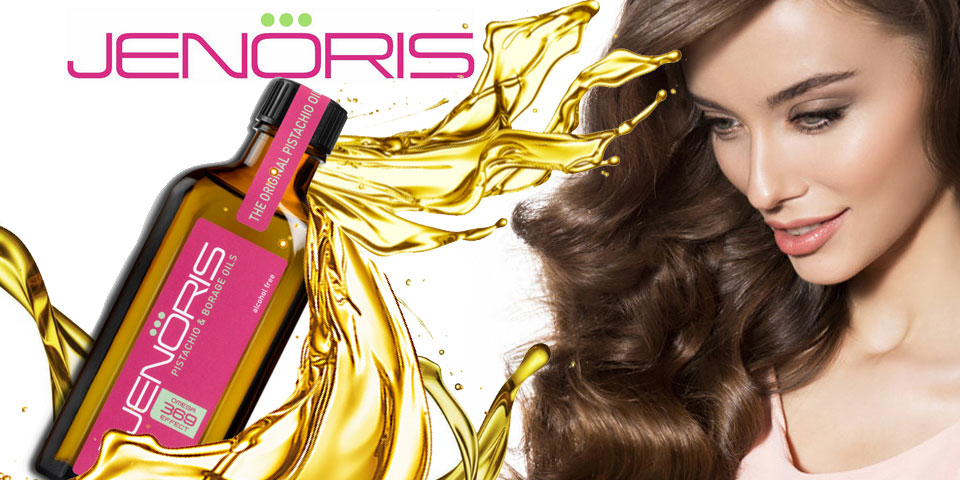 Jenoris Pistachio Hair Care Products