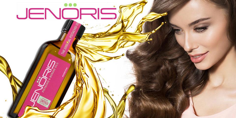 Jenoris Pistachio Hair Care Products