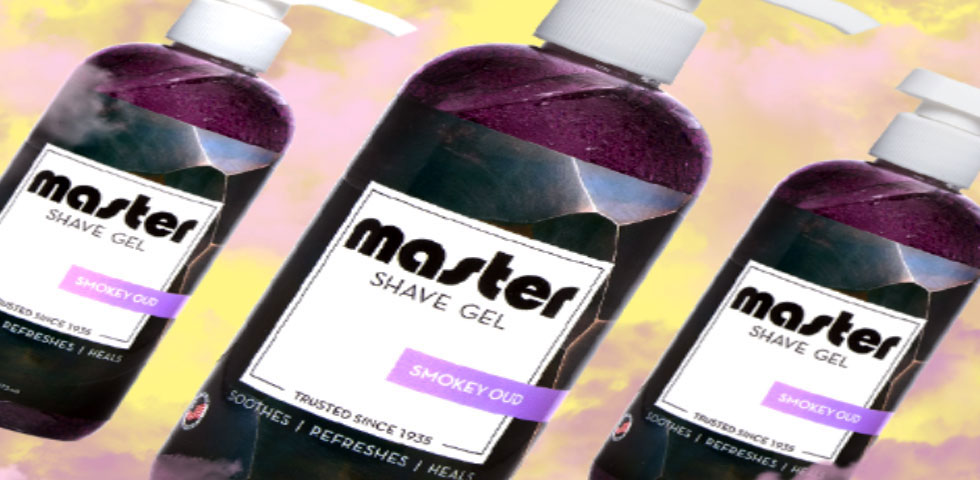 Master Shave Gel Barber Supplies