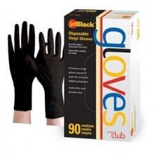 Product Club JetBlack Disposable Gloves X-Lg 90 ct