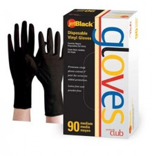 Product Club JetBlack Disposable Gloves Medium 90 ct