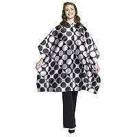 Andre Elegance Hair Styling Cape Black & Silver No.627