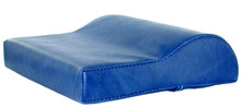 Royal Blue Vinyl Contour Tanning Bed Pillow