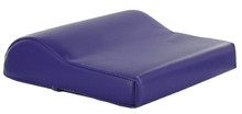 Low Profile Contour Vinyl Tanning Bed Pillow, Purple
