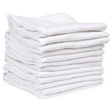 Terry Towel White Cotton - 20 Pack