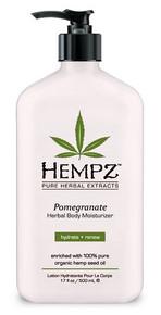 Hempz Moisturizer Pomegranate 17oz