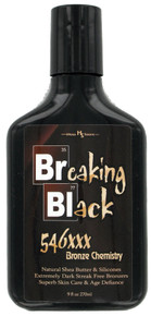 Hoss Sauce Breaking Black Tanning Lotion with 546XXX Bronzing Formula