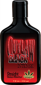 Outlaw Black Intense Straight 9oz