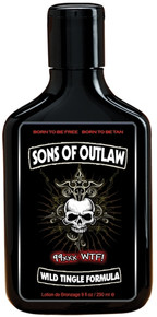Sons of Outlaw tingle w/hemp lotion 9oz