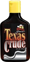Hoss Sauce Texas Crude Tingle Tanning Oil 9oz