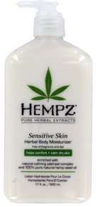 Hempz Sensitive Skin Herbal Body Moisturizer 17oz