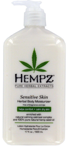 Hempz Sensitive Skin Herbal Body Moisturizer 17oz