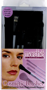 Spornette Marche Cosmetic Brushes with case